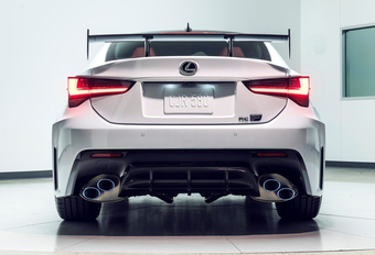 Facelift Lexus RCF krijgt GT Track Pack #1