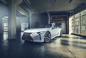 Lexus LC Convertible Concept: voorbereiden op de cabrio #1