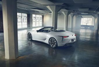 De Lexus LC cabrio komt eraan! #1
