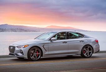 Amerikaans Auto van het Jaar 2019: Genesis G70 #1