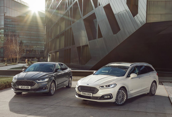 Facelift Ford Mondeo introduceert Clipper Hybrid #1