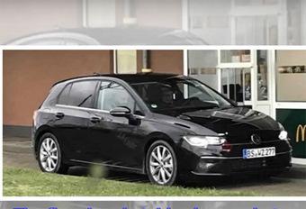 Volkswagen Golf VIII 2019: zonder camouflage! #1