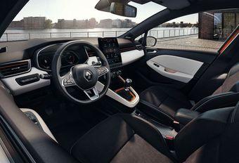Renault Clio : nouvel intérieur, numérisé #1