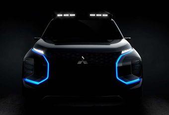 Mitsubishi Engelberg SUV Concept hint naar nieuwe Outlander PHEV #1