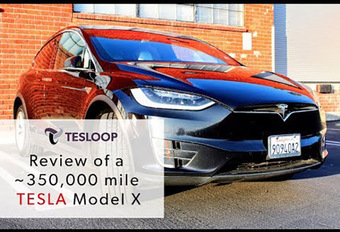 Tesla Model X : 563.000 km au compteur et pas une ride #1