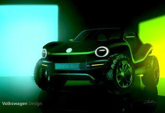 Genève – VW stelt zijn elektrische Dune buggy voor #1