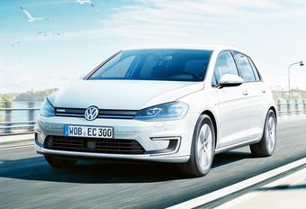Classement de l'ADAC : Volkswagen e Golf, la plus écologique #1