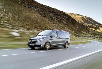 Mercedes V-Klasse krijgt een opfrisbeurt #1