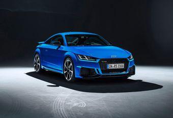 Dit verandert Audi Sport aan de facelift van de TT RS #1