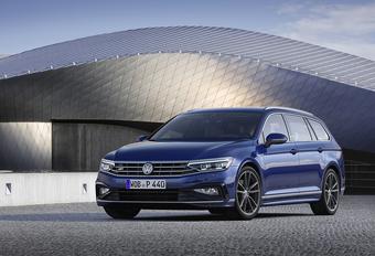 Volkswagen Passat facelift: vooral digitaal #1