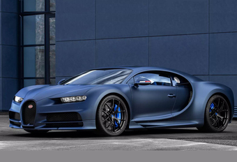 Bugatti Chiron Sport '110 ans Bugatti' is feestnummer #1