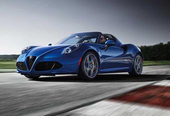 Alfa Romeo 4C Spider Italia gaat Mazda MX-5 achterna #1