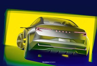 Skoda Vision iV Concept gaat elektrisch productiemodel vooraf #1