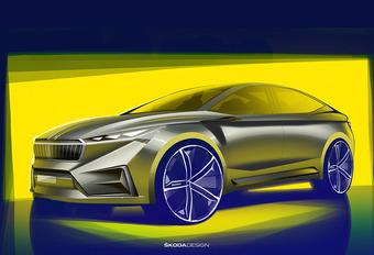 Skoda Vision iV: elektrische crossover voor Genève #1