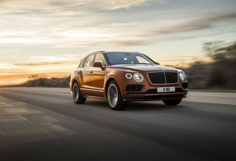 Bentley Bentayga Speed : door de grens van 300 km/u #1