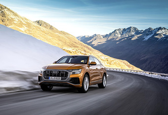 Audi Q8 : bienvenue aux 45 TDI et 55 TFSI #1