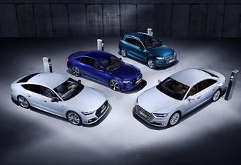 Audi Q5, A6, A7 & A8 TFSI-e : L'offensive PHEV #1