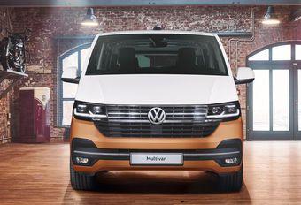 Facelift VW Multivan introduceert elektrische versie #1
