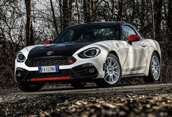 Fiat lanceert Abarth 124 Spider Rally Tribute #1