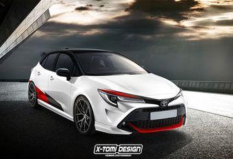Toyota Corolla en mode sportif GRMN #1