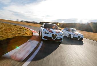 Alfa Romeo Racing-versies van de Giulia en Stelvio Quadrifoglio #1
