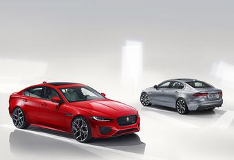 Facelift Jaguar XE krijgt nieuw interieur #1