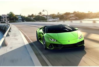 Lamborghini Huracán EVO Spyder : plein soleil #1