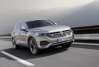 Volkswagen : un V8 TDI pour le Touareg #1