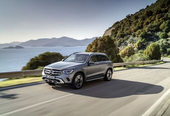 Mercedes GLC : restylage genevois #1