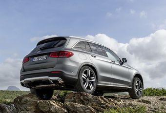 Facelift Mercedes GLC introduceert nieuwe motoren #1