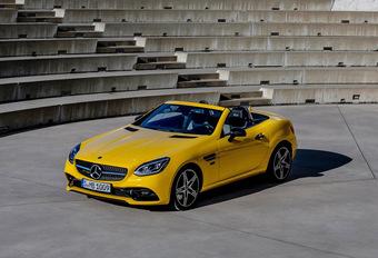 Mercedes SLC gaat op pensioen als Final Edition #1