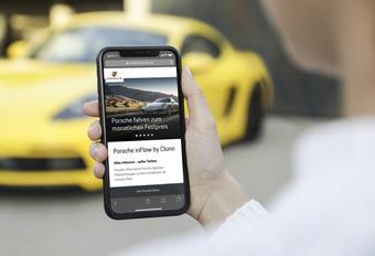 Abonnement  via une app pour conduire une Porsche #1