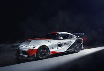 De Toyota GR Supra GT4 Concept is niet zeker van zichzelf #1