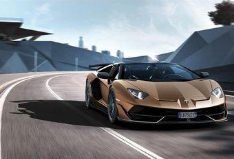 Lamborghini Aventador SVJ Roadster : windkracht V12 #1