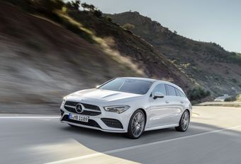 Mercedes CLA Shooting Brake: op jacht #1