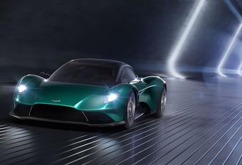Aston Martin Vanquish Vision Concept : V6 et moteur central #1