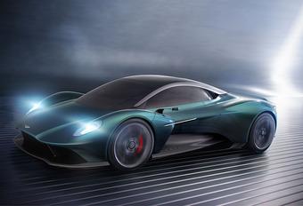 Aston Martin Vanquish Vision is Ferrari-concurrent met middenmotor #1