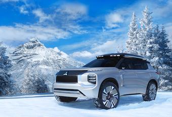 Mitsubishi Engelberg Tourer concept: de volgende Outlander? #1