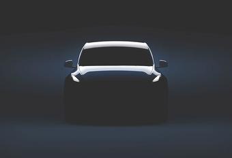 Tesla telt af naar de onthulling van de Model Y #1