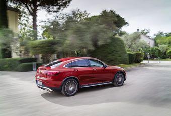 Mercedes GLC Coupé krijgt ook een facelift #1