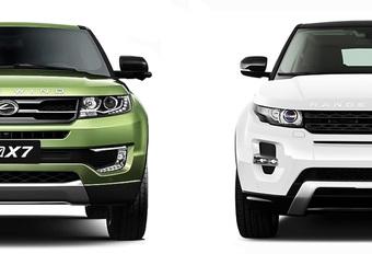 Range Rover Evoque-kloon van Landwind mag niet meer verkocht worden #1