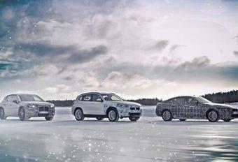 Les BMW électriques dans le Cercle polaire #1
