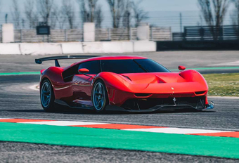 Ferrari P80/C is extreme one-off #1