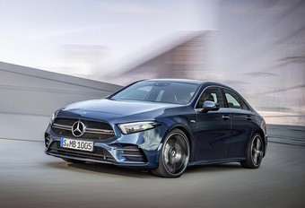Mercedes A35 4Matic berline : missile, version classique #1