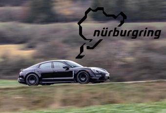 Porsche Taycan duikt onder de 8 minuten op de Ring #1