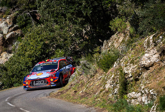 Slimme én snelle Thierry Neuville pakt leiding in rally van Corsica #1