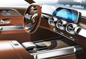 Mercedes GLB: het dashboard #1