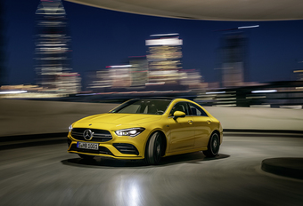 Officieel: Mercedes-AMG CLA 35 #1