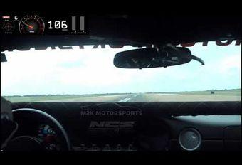 Een gemodificeerde Ford GT heeft de 300 mph (480 km/u) bereikt #1