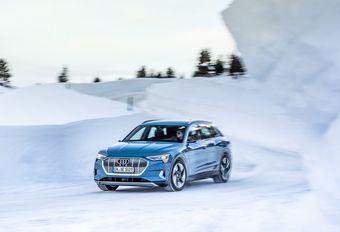 De EPA geeft een lagere autonomie voor de Audi e-tron #1